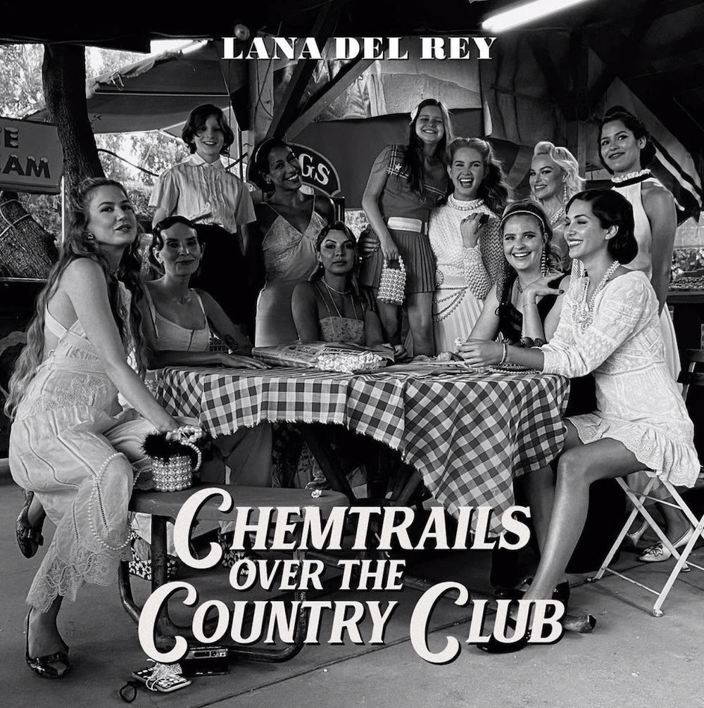 Album cover art for Chemtrails Over The Country Club by Lana Del Rey