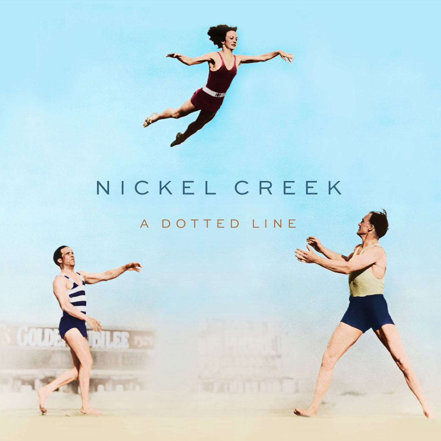 Album cover art for A Dotted Line by Nickel Creek